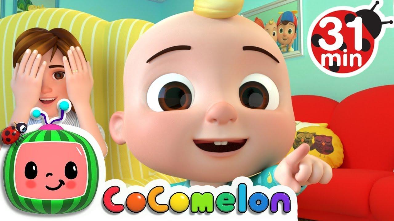 Peek a Boo Song | +More Nursery Rhymes & Kids Songs ...