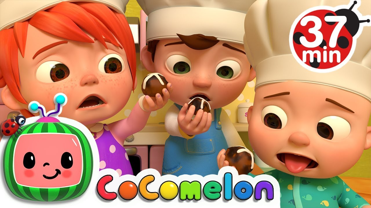 Hot Cross Buns | +More Nursery Rhymes & Kids Songs – Cocomelon (ABCkidTV)