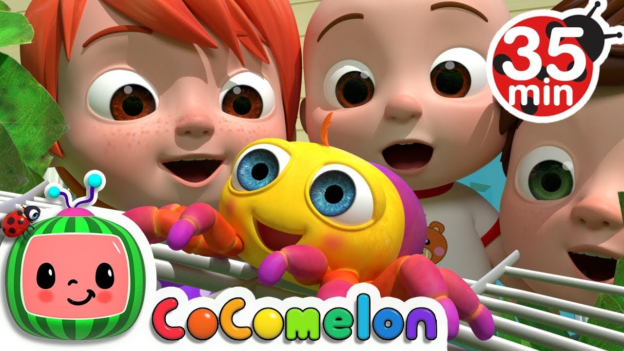 Itsy Bitsy Spider | +More Nursery Rhymes – Cocomelon (ABCkidTV)