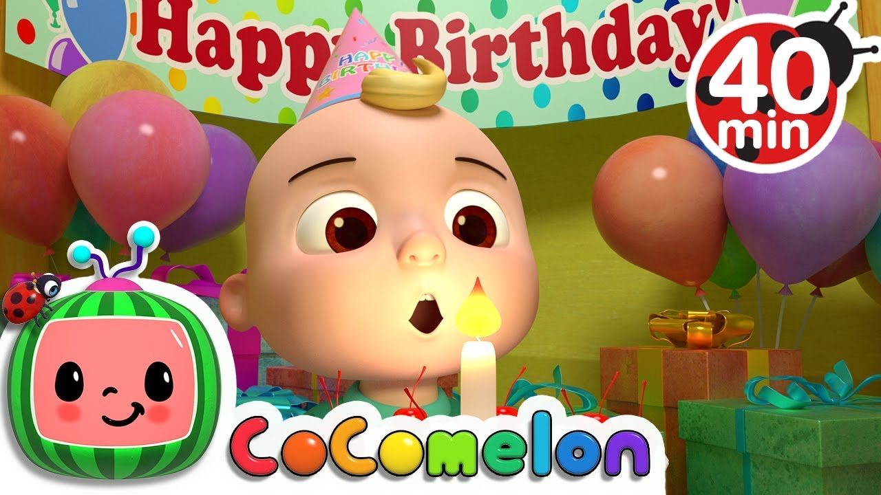 Happy Birthday Song | +More Nursery Rhymes & Kids Songs – Cocomelon (ABCkidTV)