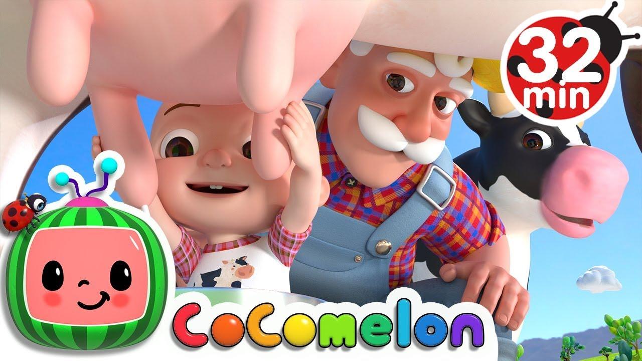 Old MacDonald Had a Farm | +More Nursery Rhymes & Kids Songs – Cocomelon (ABCkidTV)