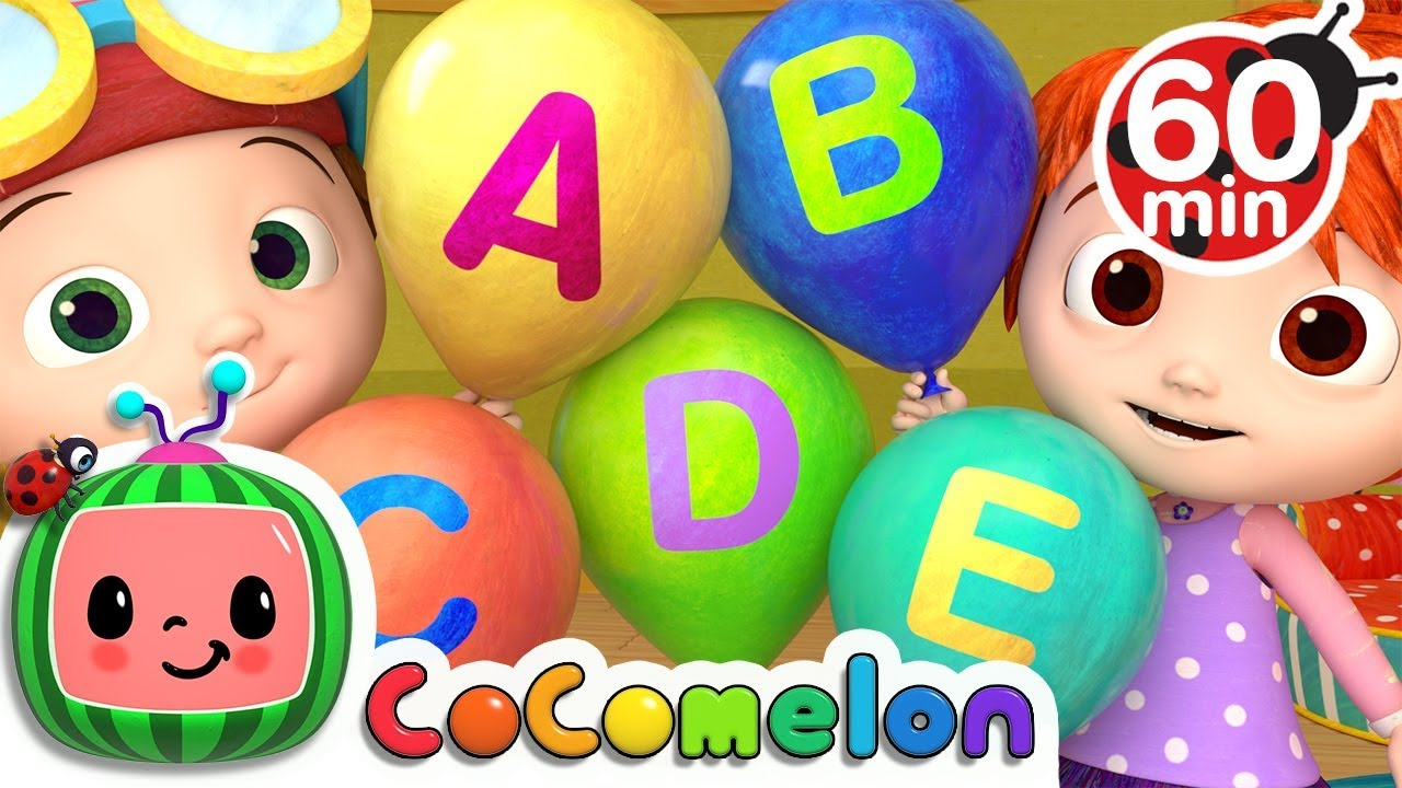 ABC Song with Balloons | +More Nursery Rhymes & Kids Songs – Cocomelon (ABCkidTV)