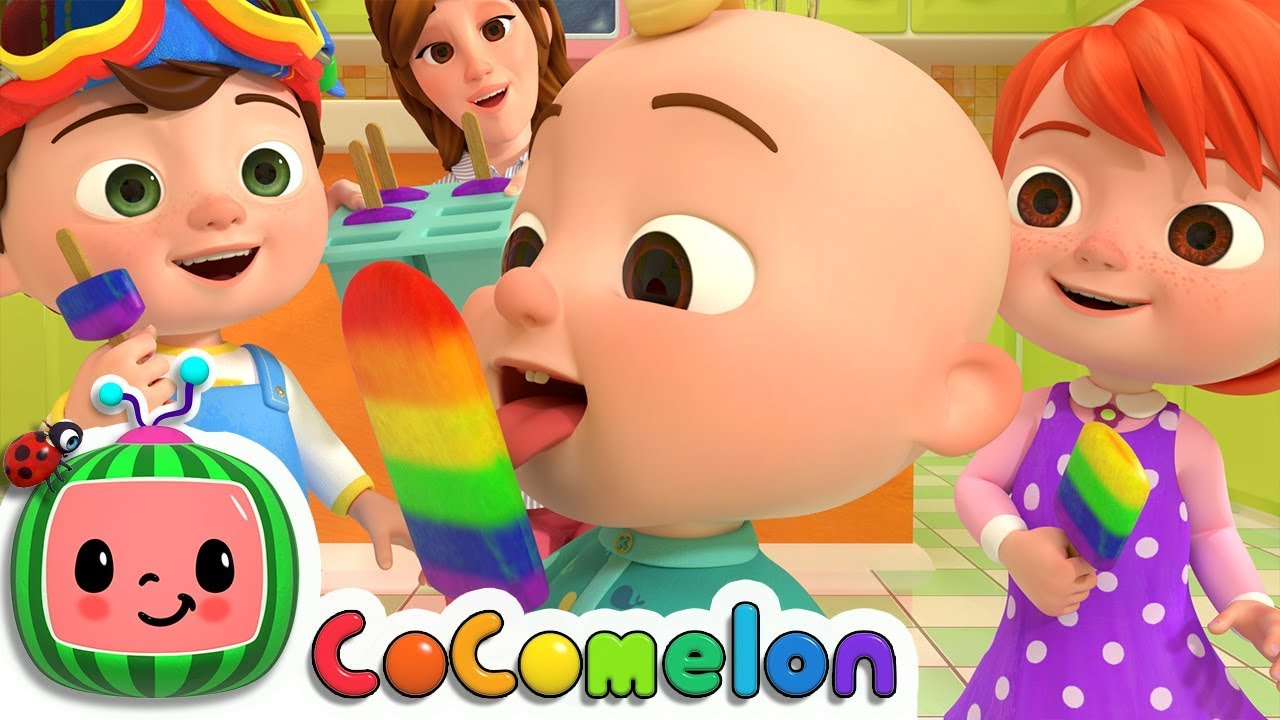 Colors Song – Learn Colors | CoCoMelon(ABCkidTV) Nursery Rhymes