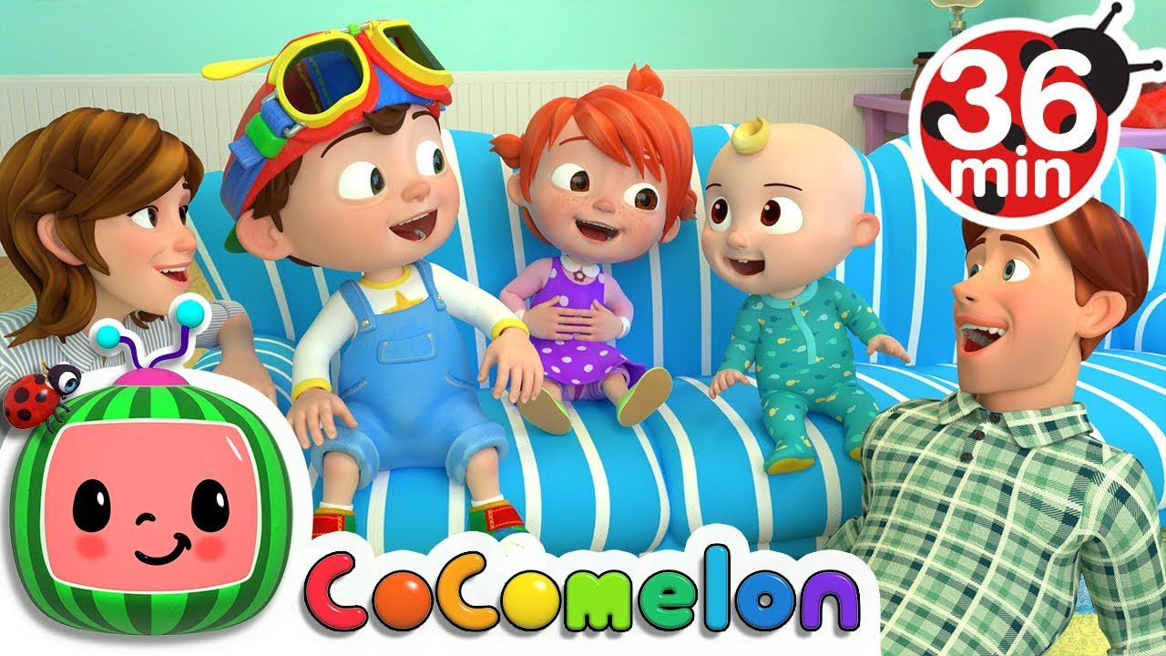 Laughing Baby with Family | +More Nursery Rhymes & Kids Songs – Cocomelon (ABCkidTV)