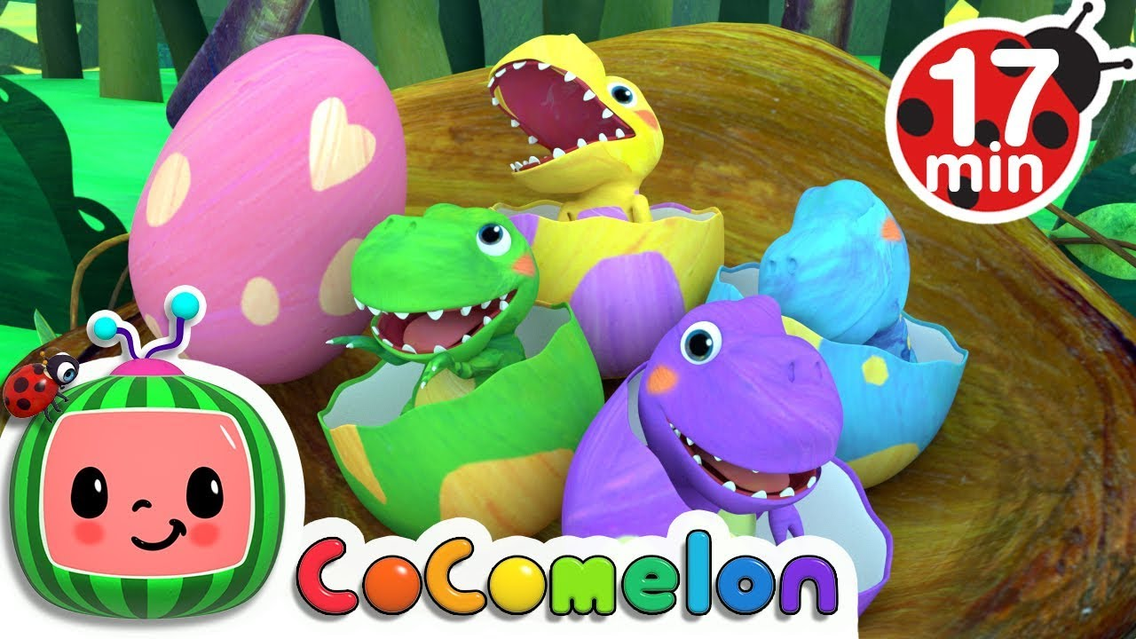 Dinosaur Songs | Kids Songs Compilation – Cocomelon (ABCkidTV)