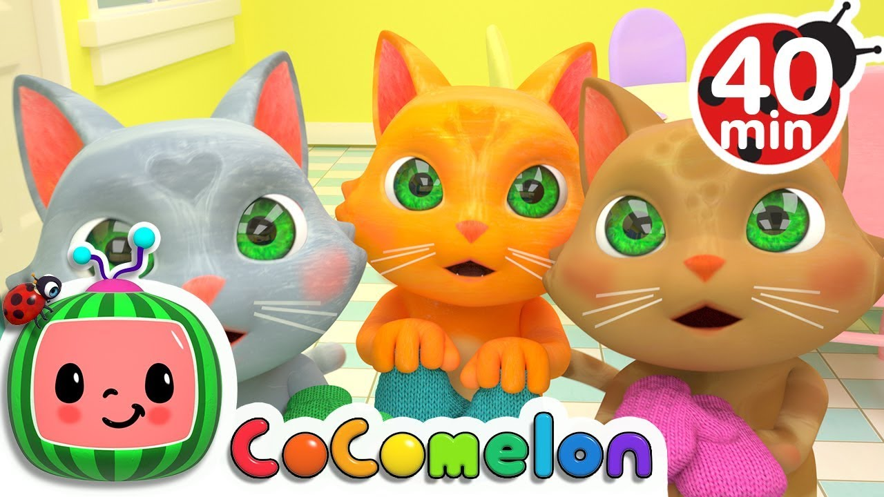 Three Little Kittens | +More Nursery Rhymes & Kids Songs – Cocomelon (ABCkidTV)