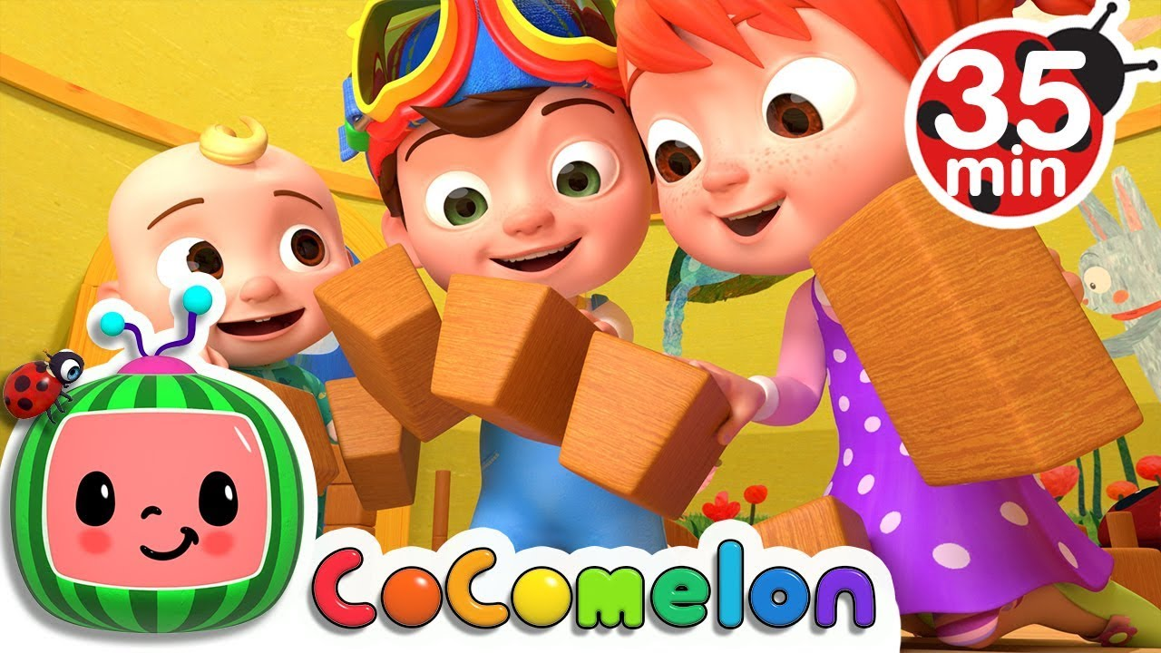 London Bridge is Falling Down | +More Nursery Rhymes & Kids Songs – Cocomelon (ABCkidTV)