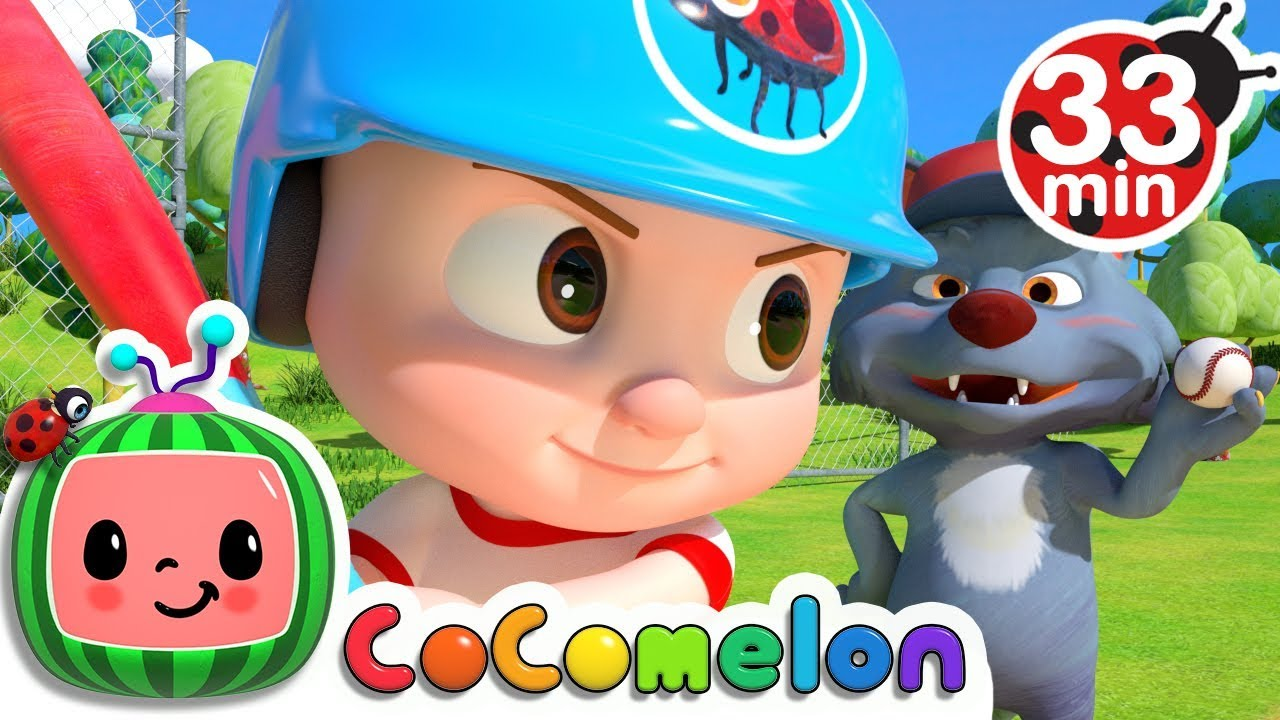 Take Me Out to the Ball Game | +More Nursery Rhymes & Kids Songs – Cocomelon (ABCkidTV)