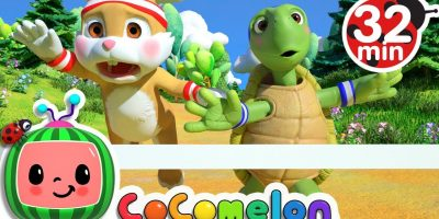 The Tortoise and the Hare | +More Nursery Rhymes & Kids Songs – Cocomelon (ABCkidTV)