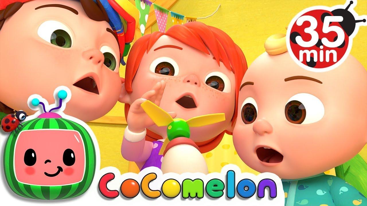Humpty Dumpty | +More Nursery Rhymes & Kids Songs – Cocomelon (ABCkidTV)