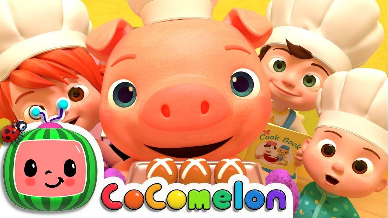 Hot Cross Buns | Cocomelon (ABCkidTV) Nursery Rhymes & Kids Songs