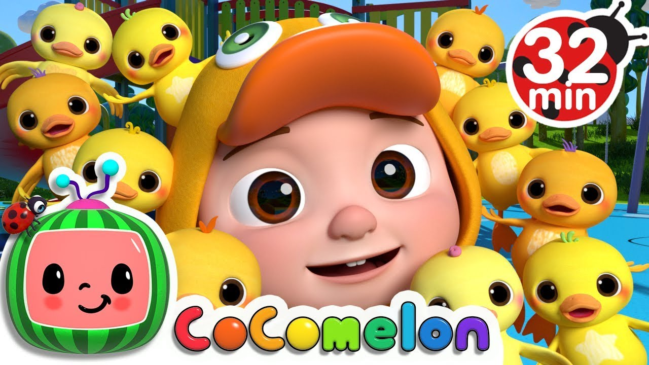Ten Little Duckies (A Number Song) | +More Nursery Rhymes & Kids Songs – Cocomelon (ABCkidTV)
