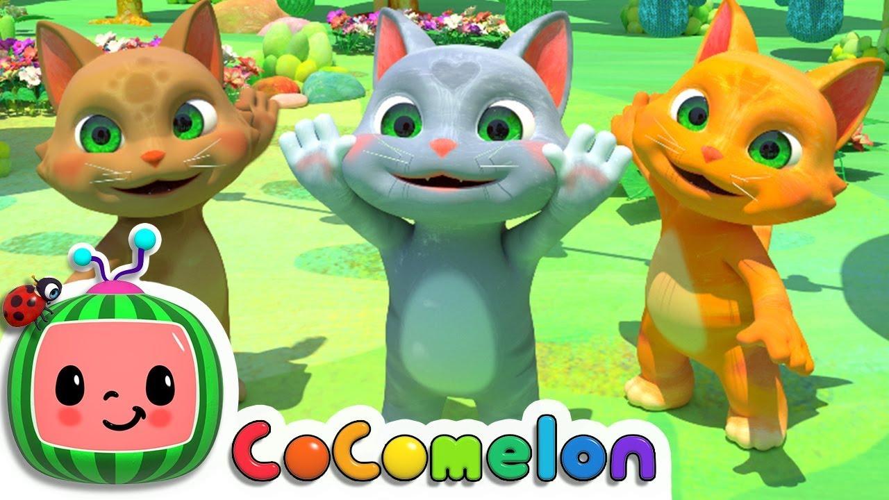 Three Little Kittens | Cocomelon (ABCkidTV) Nursery Rhymes & Kids Songs
