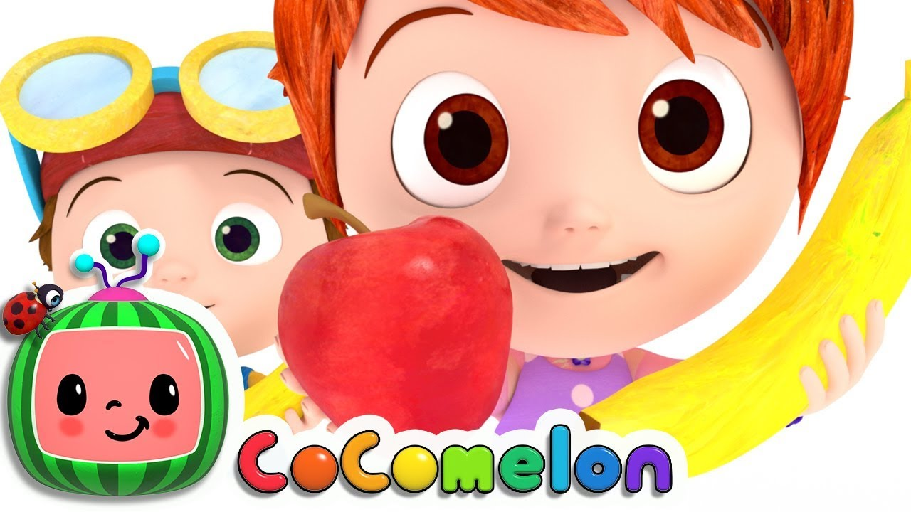 Apples and Bananas Song   Cocomelon (ABCkidTV) Nursery Rhymes & Kids Songs