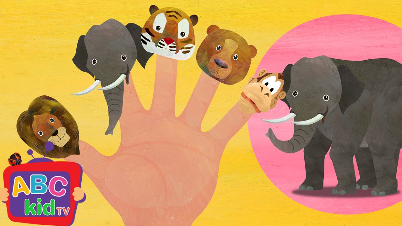 Finger Family – Animals | Cocomelon (ABCkidTV) Nursery Rhymes & Kids Songs