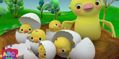 Five Little Birds   Cocomelon (ABCkidTV) Nursery Rhymes & Kids Songs