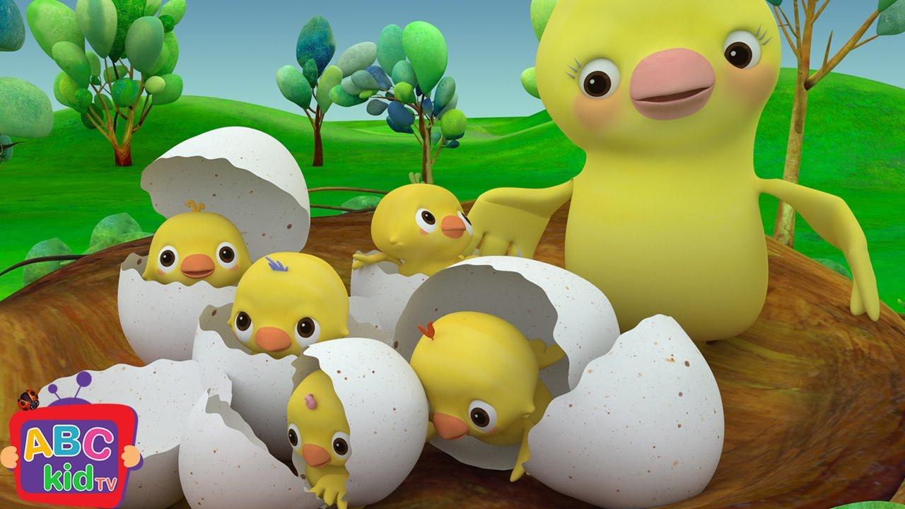 Five Little Birds | Cocomelon (ABCkidTV) Nursery Rhymes & Kids Songs