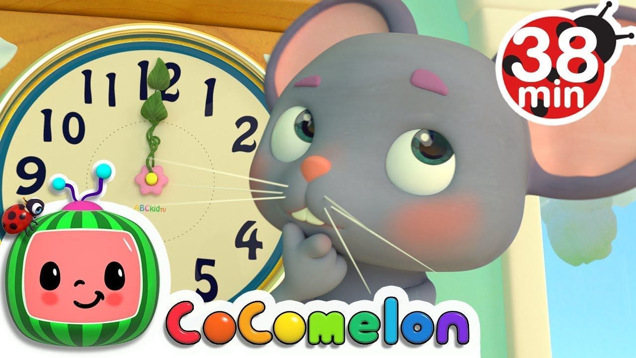 Hickory Dickory Dock | +More Nursery Rhymes & Kids Songs – Cocomelon (ABCkidTV)
