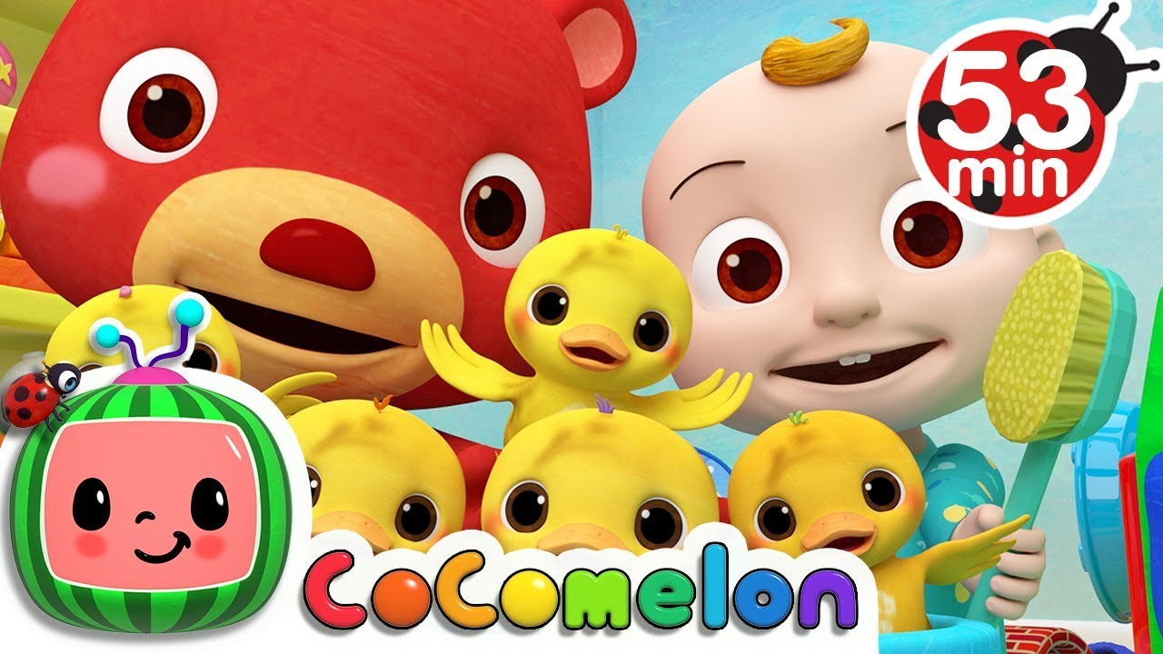 The Duck Hide and Seek Song | +More Nursery Rhymes & Kids Songs – Cocomelon (ABCkidTV)