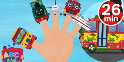 Finger Family Vehicles (2D) | +More Nursery Rhymes & Kids Songs – Cocomelon (ABCkidTV)