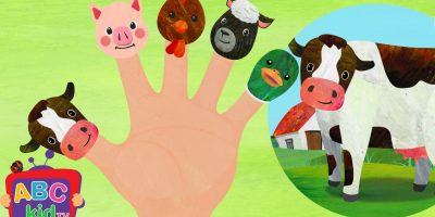 Finger Family Farm Animals (2D) | Cocomelon (ABCkidTV) Nursery Rhymes & Kids Songs