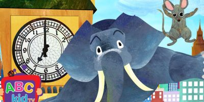Hickory Dickory Dock (2D) | Cocomelon (ABCkidTV) Nursery Rhymes & Kids Songs