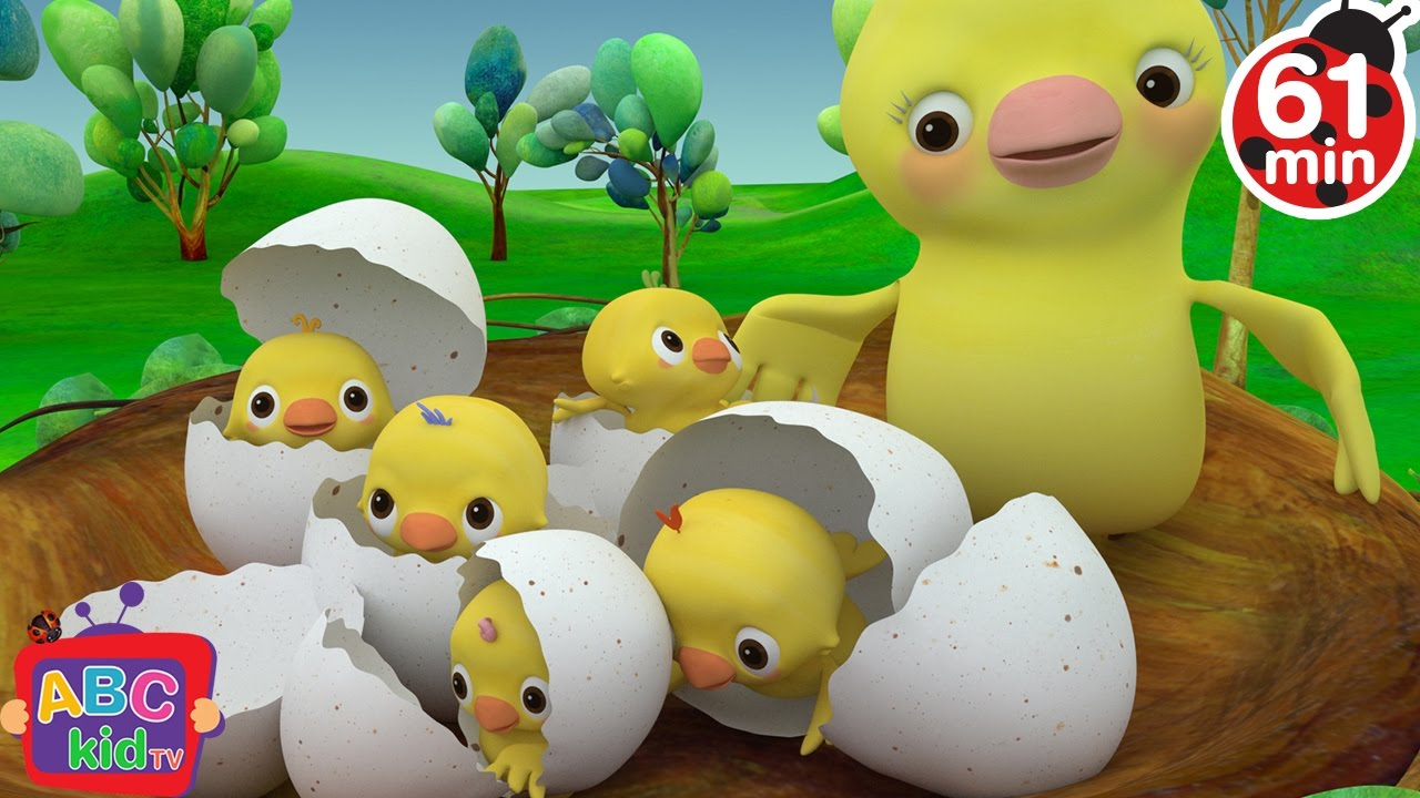 Five Little Birds | +More Nursery Rhymes & Kids Songs – Cocomelon (ABCkidTV)