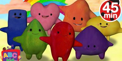 Color Songs Collection | Red, Orange, Yellow, Green, Blue, Purple, Pink – Cocomelon (ABCkidTV)