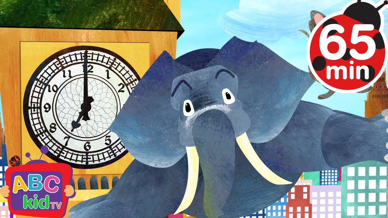 Hickory Dickory Dock (2D) | +More Nursery Rhymes & Kids Songs – Cocomelon (ABCkidTV)