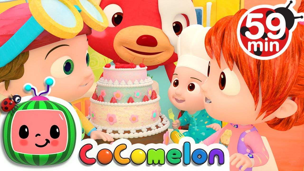 Pat a Cake | +More Nursery Rhymes & Kids Songs – Cocomelon (ABCkidTV)