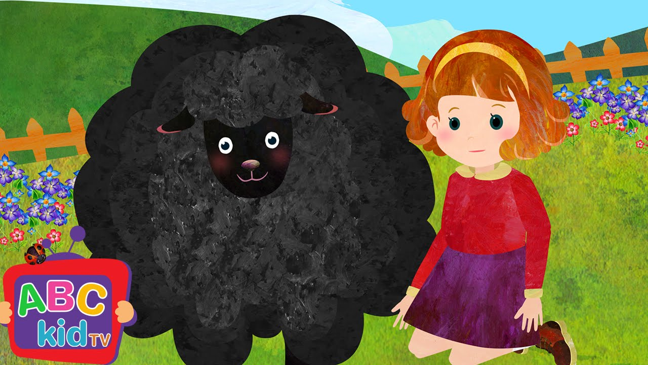 Baa Baa Black Sheep (2D)   Cocomelon (ABCkidTV) Nursery Rhymes & Kids Songs