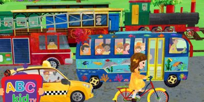 Wheels on the Bus and Vehicles | Cocomelon (ABCkidTV) Nursery Rhymes & Kids Songs