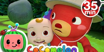 The Bear Went Over the Mountain | +More Nursery Rhymes & Kids Songs – Cocomelon (ABCkidTV)