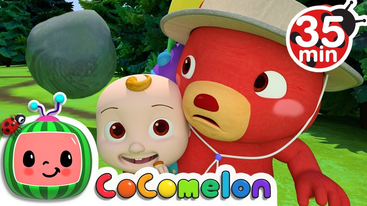 The Bear Went Over the Mountain   +More Nursery Rhymes & Kids Songs – Cocomelon (ABCkidTV)