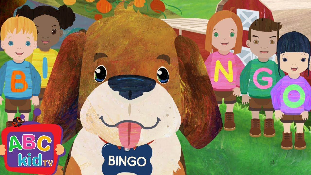 Bingo (2D) | Cocomelon (ABCkidTV) Nursery Rhymes & Kids Songs