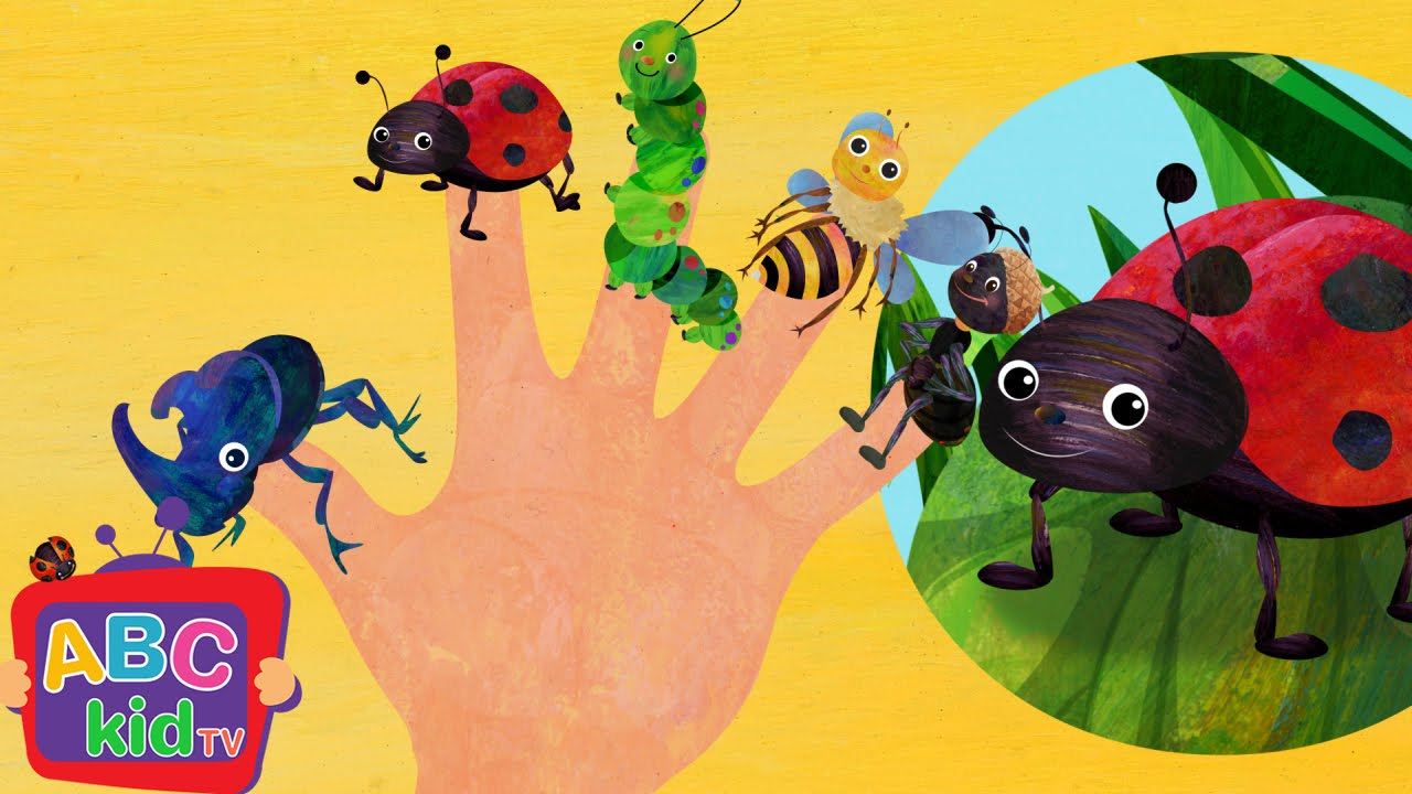 Finger Family – Insects | Cocomelon (ABCkidTV) Nursery Rhymes & Kids Songs