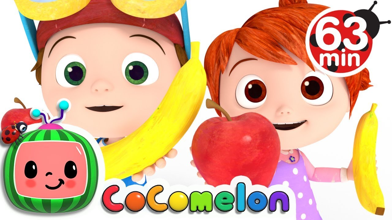Apples and Bananas | +More Nursery Rhymes & Kids Songs – Cocomelon (ABCkidTV)