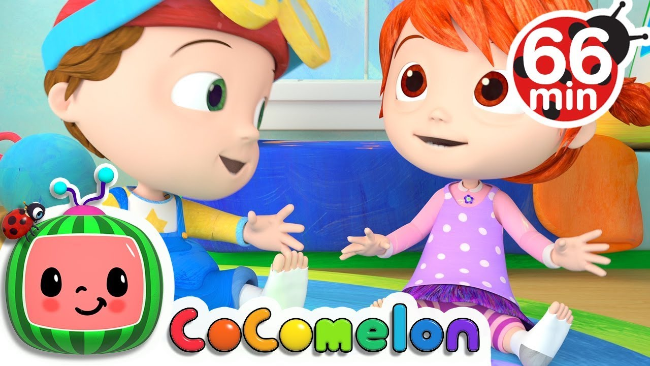 The Socks Song | +More Nursery Rhymes & Kids Songs – Cocomelon (ABCkidTV)