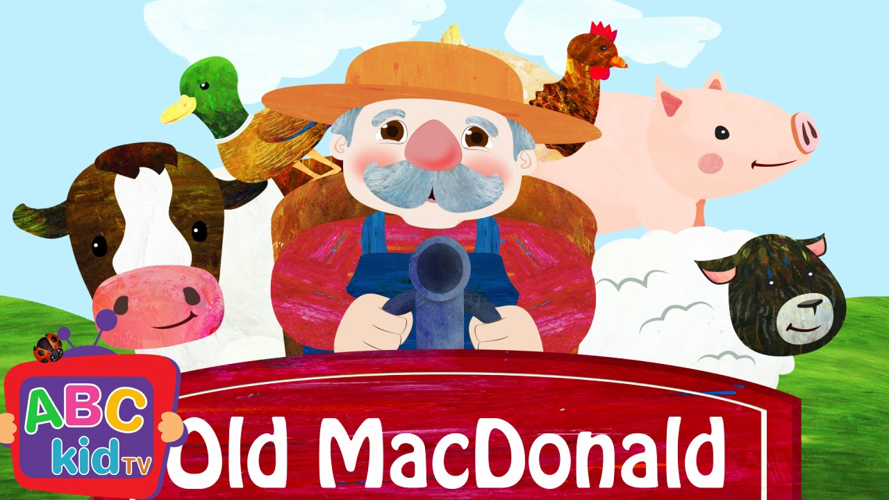 Old MacDonald Had A Farm (2D) | Cocomelon (ABCkidTV) Nursery Rhymes & Kids Songs