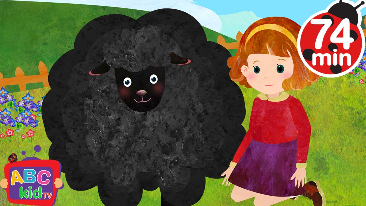 Baa Baa Black Sheep (2D) | +More Nursery Rhymes & Kids Songs – Cocomelon (ABCkidTV)