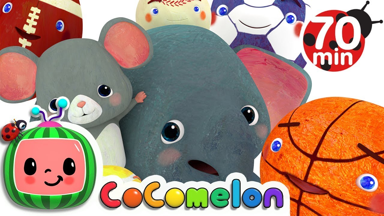 Sports Ball Song | +More Nursery Rhymes & Kids Songs – Cocomelon (ABCkidTV)