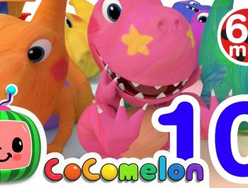 Dinosaur Number Song   +More Nursery Rhymes & Kids Songs – Cocomelon (ABCkidTV)