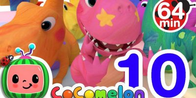 Dinosaur Number Song | +More Nursery Rhymes & Kids Songs – Cocomelon (ABCkidTV)