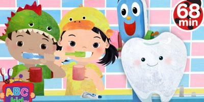 Brush Your Teeth (2D) | +More Nursery Rhymes & Kids Songs – Cocomelon (ABCkidTV)