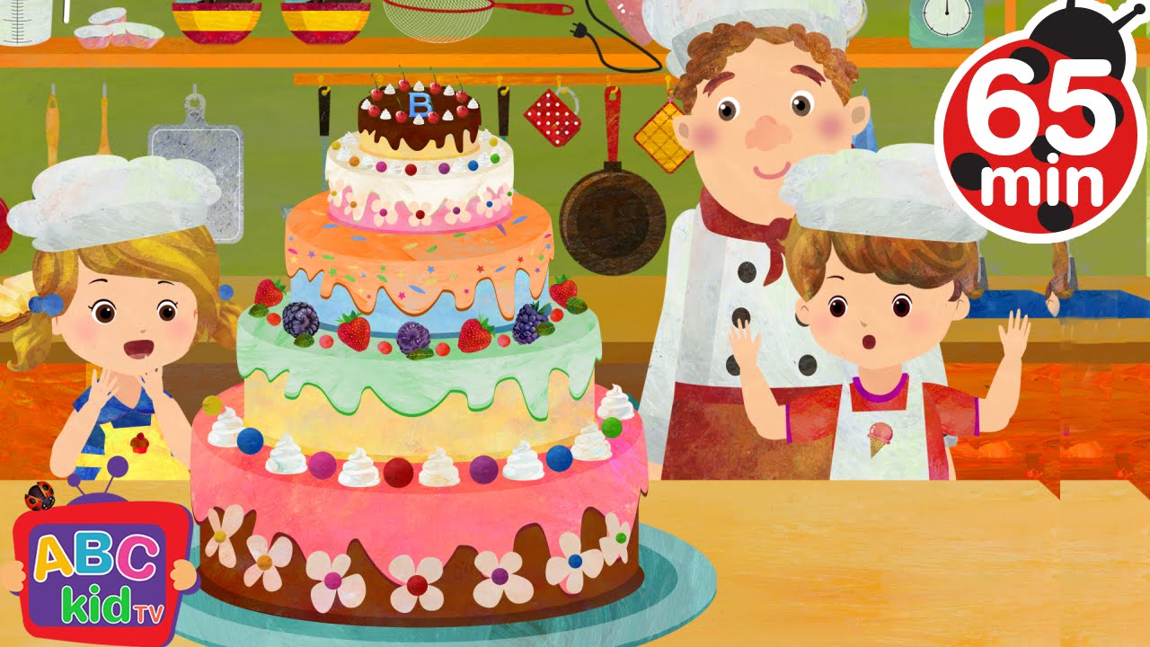 Pat a Cake (2D) | +More Nursery Rhymes & Kids Songs – Cocomelon (ABCkidTV)