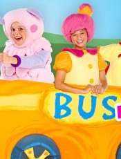 The Wheels on the Bus Go Round and Round – Mother Goose Club Songs for Children