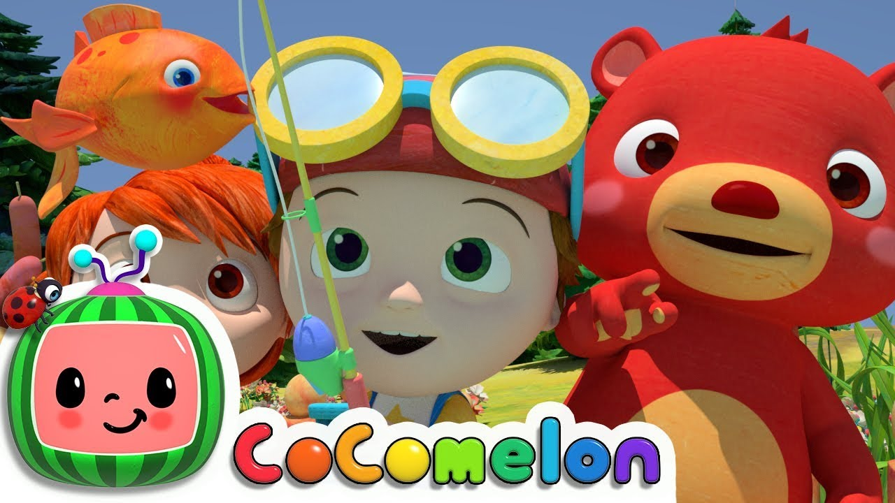 12345 Once I Caught A Fish Alive!   Cocomelon (ABCkidTV) Nursery Rhymes & Kids Songs