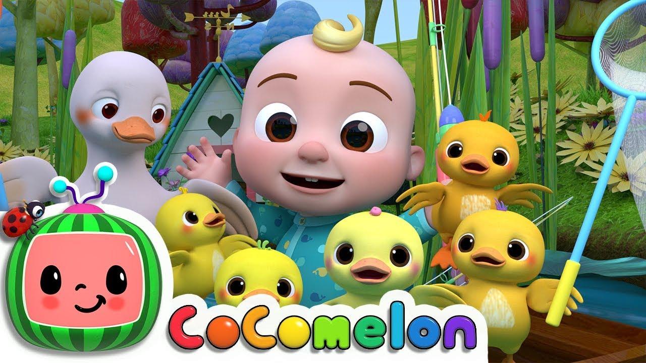Five Little Ducks 2   Cocomelon (ABCkidTV) Nursery Rhymes & Kids Songs