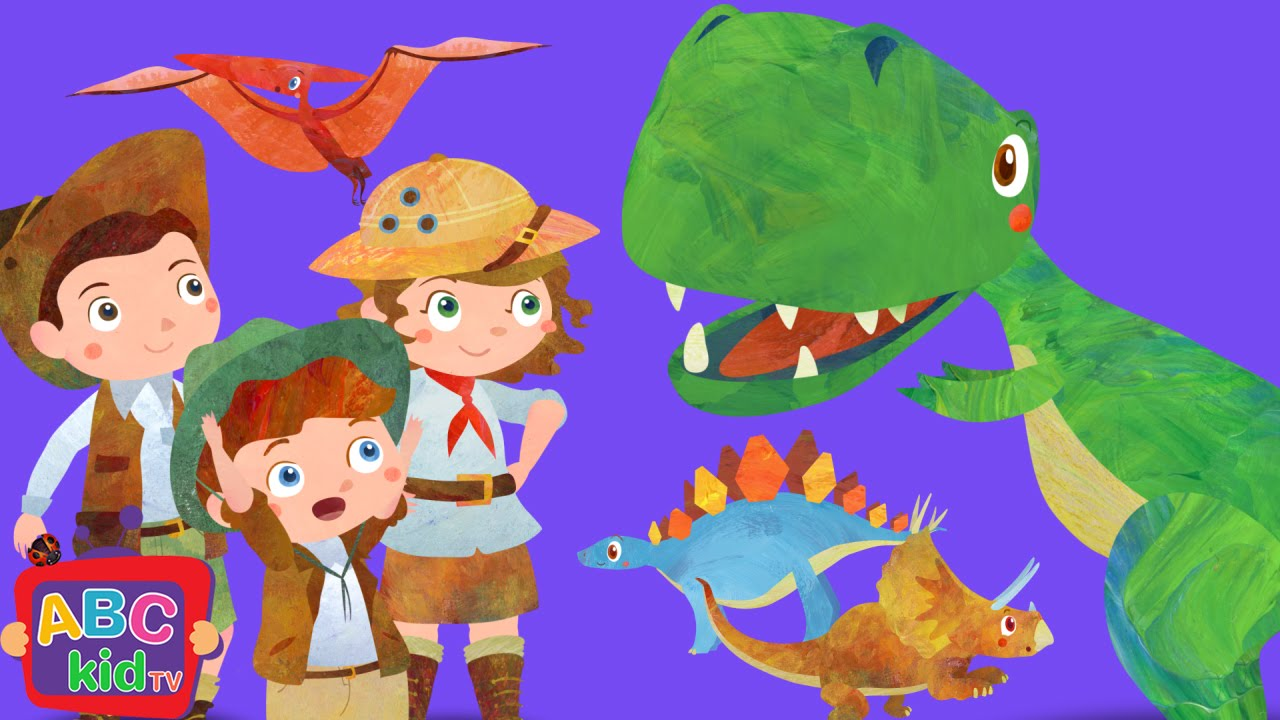 Dinosaurs Song (2D) | Cocomelon (ABCkidTV) Nursery Rhymes & Kids Songs