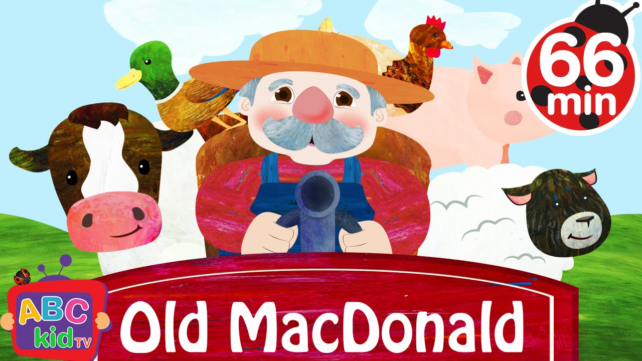 Old MacDonald Had a Farm (2D) | +More Nursery Rhymes & Kids Songs – Cocomelon (ABCkidTV)